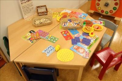 色々なゲームで遊べるテーブル