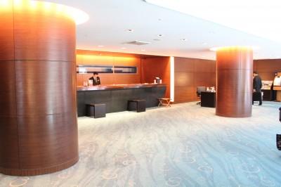 京都東急ホテルのフロント