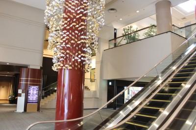 東急ホテル 入口付近