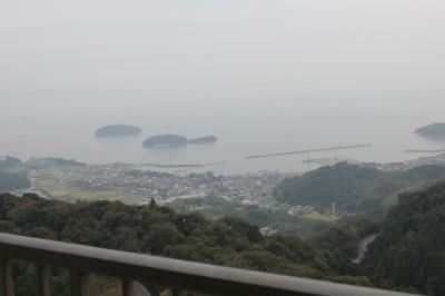 三河湾が一望できる、グリーンホテル三ヶ根の見晴らしは最高!