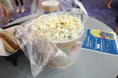 映画館で買ったポッポコーン・バター醤油味