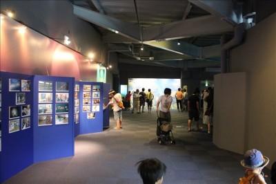 江ノ島水族館の入り口付近