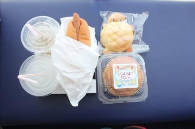 江ノ島水族館の売店で購入した食べ物