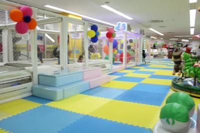 室内遊び場遊KIDSランド・ノースポートモール店内の様子