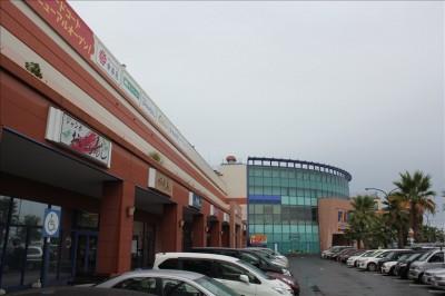 湘南モールフィルの駐車場と建物