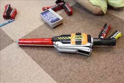 トッキュウ6号の武器