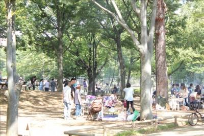 府中の森公園バーベキュー広場