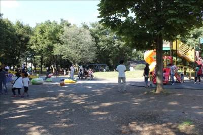 府中の森公園遊具広場