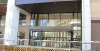 東急武蔵小杉駅側のグランツリー入り口の様子