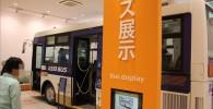 京王バスの展示コーナー