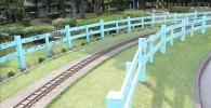 ミニ鉄道の線路
