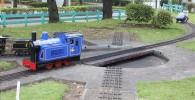 ミニ鉄道の回転台