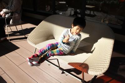 グランツリー 屋上の椅子