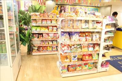 USキッズランドのお菓子の売店
