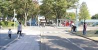 交通公園の道路の様子