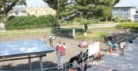100円で乗れる電気自動車の広場