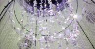 スペースアスレチック中心部分のキラキラの飾り