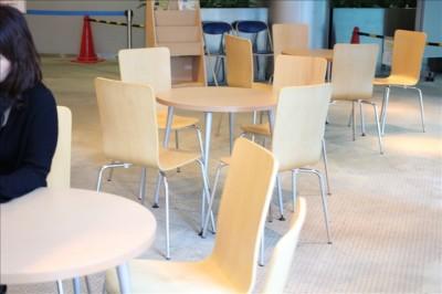 こども未来創造館3Fにある休憩スペース
