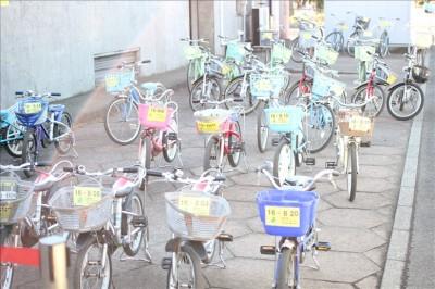 サイクリングセンターのレンタル自転車