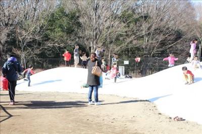 小金井公園フワフワドーム3連ドーム型