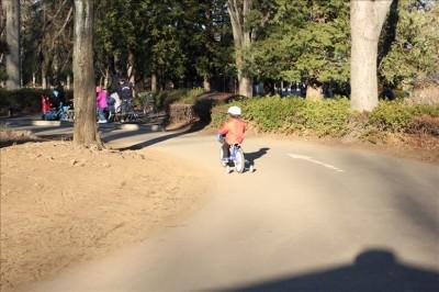 サイクリングコースの幼児コース
