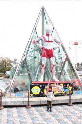 東京ドームシティのウルトラマン