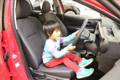 トレッサ横浜のトヨタの車の試乗