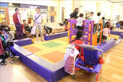 トレッサ横浜の無料キッズスペース