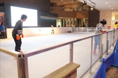トレッサ横浜のアイススケートリンク