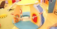 乳幼児用スペースの幼児向け玩具