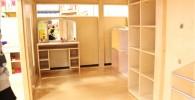 ミニお家の中の収納棚や化粧机