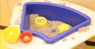 お台場室内お砂遊びの玩具
