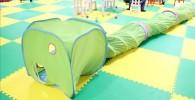 緑色のトンネル(キッズキャッスル)