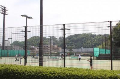 日野中央公園テニス場
