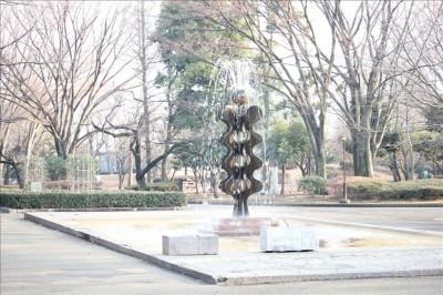 噴水広場の噴水