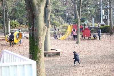 大蔵運動公園児童広場
