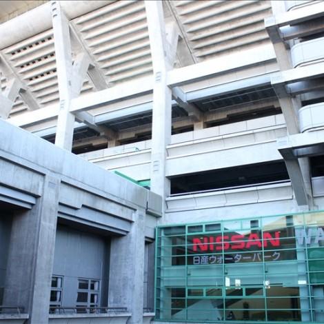日産スタジアムの建物概観