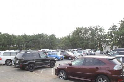 湘南海岸公園駐車場