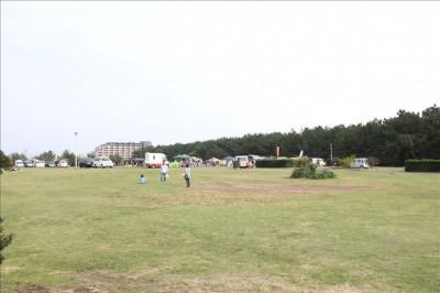 湘南海岸公園芝生広場
