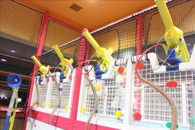黄色いボールバズーカー