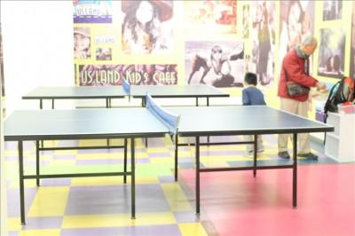 USキッズランド卓球が出来るスペース