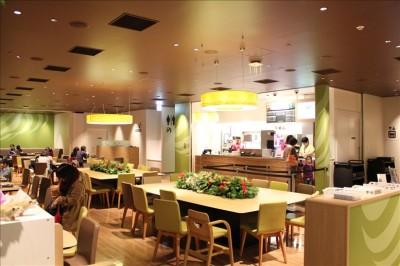 オービィ横浜の2Fレストラン