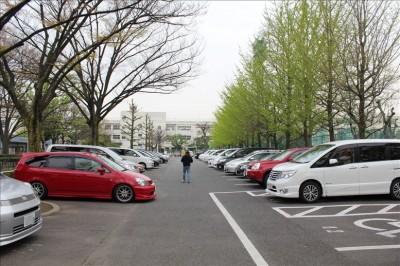 萩中公園駐車場