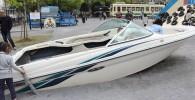 ガラクタ公園のボート