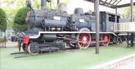 ガラクタ公園イギリスの蒸気機関車