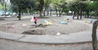 萩中公園のお砂場