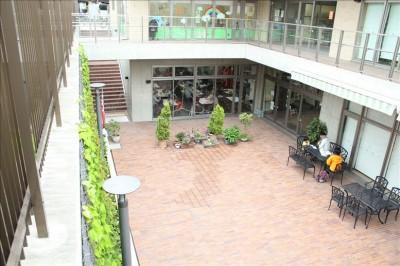 萩中公園隣のレストラン