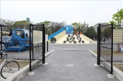 ガラクタ公園入り口