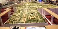 甲州街道宿場町の再生(模型)