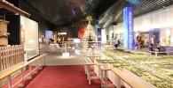 博物館2Fの常設展示室の様子